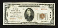 National Bank Notes:Maryland, Hagerstown, MD - $20 1929 Ty. 2 The Second NB Ch. # 4049. ...