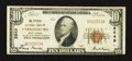 National Bank Notes:West Virginia, Parkersburg, WV - $10 1929 Ty. 1 The Citizens NB Ch. # 2649. ...