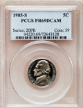 Proof Jefferson Nickels: , 1985-S 5C PR69 Deep Cameo PCGS. PCGS Population (2806/28). NGCCensus: (419/13). Numismedia Wsl. Price for problem free N...