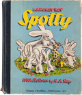 Books:Children's Books, [H. A. Rey, illustrator]. Margret Rey. Spotty. With Picturesby H. A. Rey. [New York]: Harper & Brothers, [1945]...