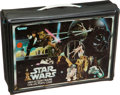 Memorabilia:Science Fiction, Star Wars Action Figure Collector's Case/Land Speeder Group (Kenner, 1977-78).... (Total: 2 Items)