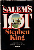 Books:Signed Editions, Stephen King. 'Salem's Lot. Garden City: Doubleday, 1975.First edition. Inscribed by the author. Octavo. 43...