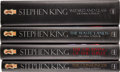 Books:Signed Editions, Stephen King. The Dark Tower Series, Volumes I-IV SignedFirsts, including: The Gunslinger; The Draw... (Total: 4Items)