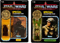 Memorabilia:Science Fiction, Star Wars: The Power of the Force Action Figure Group (Kenner, 1984).... (Total: 2 Items)