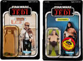 Memorabilia:Science Fiction, Star Wars: Return of the Jedi Action Figure Group (Kenner, 1983).... (Total: 2 Items)