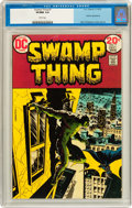 Bronze Age (1970-1979):Horror, Swamp Thing #7 (DC, 1973) CGC VF/NM 9.0 White pages....