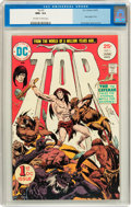 Bronze Age (1970-1979):Miscellaneous, Tor #1 (DC, 1975) CGC NM+ 9.6 Off-white to white pages....