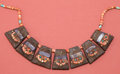 American Indian Art:Pottery, Chimu Spondylus and Wood Necklace...