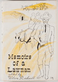 Books:First Editions, Wilson Rockwell [editor]. Memoirs of a Lawman. Denver: SageBooks, 1962. First edition. Octavo. Publisher's bind...