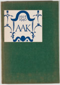 Books:First Editions, [Alfred A. Knopf]. Alfred A. Knopf: Quarter Century. [n. p.:The Book Table, 1940]. First edition. Octavo. Publisher...