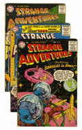 Silver Age (1956-1969):Science Fiction, Strange Adventures Group (DC, 1956-60) Condition: Average FN....(Total: 10 Comic Books)