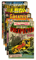 Silver Age (1956-1969):Miscellaneous, DC Silver Age Mystery Comics Group (DC, 1956-58) Condition: AverageFN.... (Total: 5 Comic Books)