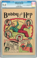 Golden Age (1938-1955):Non-Fiction, Bobby Gets Hep #nn Mile High pedigree (Bell Telephone System, 1946)CGC VF/NM 9.0 Off-white pages....