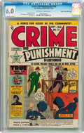 Golden Age (1938-1955):Crime, Crime and Punishment Mile High pedigree CGC Group (Lev Gleason, 1949-52).... (Total: 3 Comic Books)