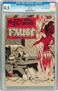 Golden Age (1938-1955):Miscellaneous, Illustrated Stories of the Operas #nn Faust Mile High pedigree (Baily Publication, 1943) CGC VG+ 4.5 White pages....