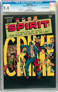 Golden Age (1938-1955):Superhero, The Spirit #12 Mile High pedigree (Quality, 1948) CGC NM 9.4 White pages....