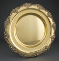 Silver Holloware, British:Holloware, A GARRARD & CO. ENGLISH SILVER GILT TRAY . Garrard & Co.,London, England, circa 1980 . Marks: (lion passant-leopards head)...