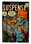 Silver Age (1956-1969):Science Fiction, Tales of Suspense #2 (Marvel, 1959) Condition: VG....
