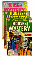 Silver Age (1956-1969):Horror, House of Mystery Group (DC, 1956-58) Condition: Average FN....(Total: 11 Comic Books)