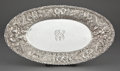 Silver Holloware, American:Plates, A BALTIMORE SILVER BREAD PLATE . Baltimore Silver Co., Baltimore,Maryland, circa 1903-1905. Marks: (B-lions head-S) STERL...