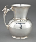Silver Holloware, American:Pitchers, A GORHAM COIN SILVER PITCHER . Gorham Manufacturing Co.,Providence, Rhode Island, circa 1855. Marks: (lion-anchor-G) 655...