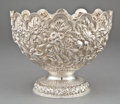 Silver Holloware, American:Bowls, A KIRK SILVER CENTER BOWL . S. Kirk & Son Inc., Baltimore,Maryland, circa 1880-1890. Marks: S. KIRK & SON, 11 OZ .9-1/...