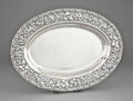 Silver Holloware, American:Platters, A JACOBI & JENKINS SILVER PLATTER . Jacobi & Jenkins,Baltimore, Maryland, circa 1894-1908. Marks: JACOBI &JENKINS, STERL...