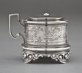 Silver Holloware, American:Other , A BIGELOW, KENNARD SILVER MUSTARD POT. Bigelow, Kennard &Company, Inc., Boston, Massachusetts, circa 1873. Marks:BIGELOW...