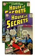 Silver Age (1956-1969):Mystery, House of Secrets #3 and 4 (DC, 1957) Condition: Average FN....(Total: 2 Comic Books)