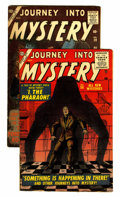 Golden Age (1938-1955):Horror, Journey Into Mystery #36 and 39 Group (Marvel, 1956) Condition:Average FN.... (Total: 2 Comic Books)