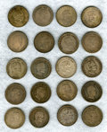 Colombia, Colombia: Half Dollars & P/M 20th Century Study Lot, ...(Total: 187 coins)