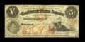 Confederate Notes:1861 Issues, T32 $5 1861. The orange overprint is nice on this $5. Pencilled collector notations are found on the back and the edges are ...