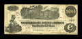 "Confederate Notes:1862 Issues, T39 $100 1862. This Very Fine example was issued in San Antonio, TXon March 31, 1863.. From The William A. ""Bill"" Bon..."