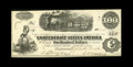 "Confederate Notes:1862 Issues, T40 $100 1862. Bright paper is found on this C-note with theengraver name of ""Hollings"" in the left-hand margin. Our Confed..."