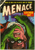 Golden Age (1938-1955):Horror, Menace #11 (Atlas, 1954) Condition: FN+....