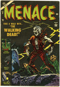 Golden Age (1938-1955):Horror, Menace #9 (Atlas, 1954) Condition: FN....