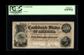 """Confederate Notes:1864 Issues, T64 $500 1864. This is a very pleasing example of the """"Stars and Bars"""" $500. The paper is perfectly original and the signatu..."""