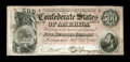 """T64 $500 1864. This $500 is well centered, with nice color. Extremely Fine. From The William A. """"Bill"""" Bond Co..."""