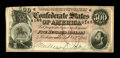 Confederate Notes:1864 Issues, T64 $500 1864. Cut just a hair too low at upper left, this Extremely Fine $500 has some pinholes at center.. From The ...