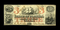 Obsoletes By State:Florida, Tallahassee, FL- State of Florida $3 March 1, 1863 Cr. 17. This is a scarce denomination in a legitimately rare grade, a sol...