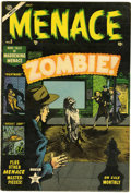 Golden Age (1938-1955):Horror, Menace #5 (Atlas, 1953) Condition: VG/FN....