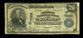 National Bank Notes:Colorado, Salida, CO - $20 1902 Plain Back Fr. 651 The Commercial NB Ch. #(W)7888. ...