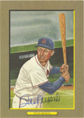 "Autographs:Post Cards, Stan Musial Signed Perez-Steele ""Great Moments"" Postcard. A greatsigned example of Stan Musial's postcard from the 1985 fi..."