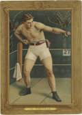 "Boxing Cards:General, 1911 T9 Turkey Red Cabinets Al Kaufman #73. Al Kaufman served as one of the many ""Great White Hopes"" chosen to take on Jack..."