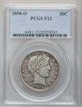 Barber Half Dollars: , 1898-O 50C Fine 12 PCGS. PCGS Population (17/141). NGC Census:(5/58). Mintage: 874,000. Numismedia Wsl. Price for problem ...