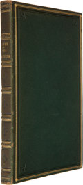 Books:First Editions, [Alfred and Charles Tennyson]. Poems, by Two Brothers.London: W. Simpkin and R. Marshall, 1827. First edition. Octa...