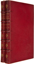 Books:Signed Editions, Alfred Tennyson. Poems. London: Edward Moxon, 1842. First edition. Handwritten note by the author laid in. Two t... (Total: 2 Items)