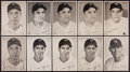 Baseball Cards:Sets, 1947 - 1950 New York Yankees Picture Pack Set Trio (3). ...