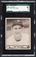 Baseball Cards:Singles (1940-1949), 1940 Play Ball Ted Williams #27 SGC 40 VG 3....