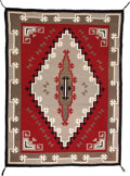 American Indian Art:Weavings, A NAVAJO REGIONAL RUG. Ganado. c. 1970...